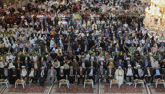 یازدهمین-جشنواره-بین المللی-«بهار-شهادت»-در-کربلا-افتتاح-شد---عکس