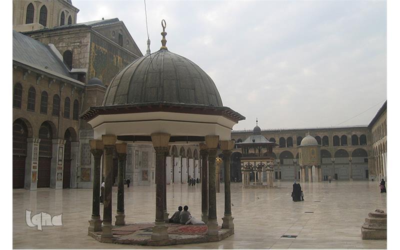 عکس+مسجد+دمشق