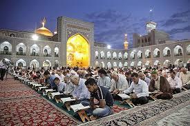 اذان و قرآن توسط قاریان بینالمللی در حرم رضوی برگزار میشود