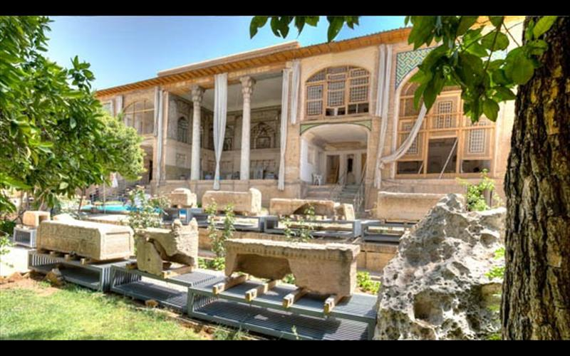 85880414945298694071305091200 باغ هفت تنان شیراز(موزه سنگ)