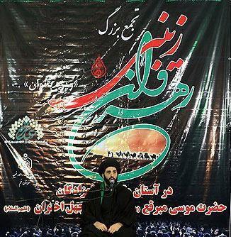 گزارش خبریم از همایش رهروان زینبی در آستان موسی مبرقع(ع)